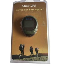 New Handheld Keychain PG03R Mini GPS Navigation USB charge Rechargeable Outdoor Sport travel Support Digital Compass/Stopwatch