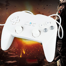 Hot Selling Useful Wired Game Controller Joystick Gamepad For PC Laptop Computer for Nintendo Wii High Quality