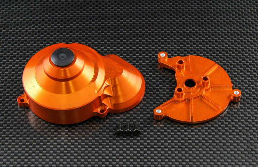 Aluminum middle gear box cover -2 pieces fit for AXIAL WRAITH 1/10 AXIAL SCX10<br>