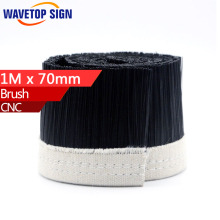 1M x 70mm Brush Vacuum Cleaner Engraving Machine Dust Cover For CNC Router For Spindle Motor.(China)