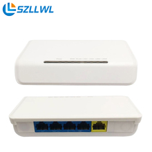 high speed mini white case SOHO 4-port Fast wired network cable wire router use for home