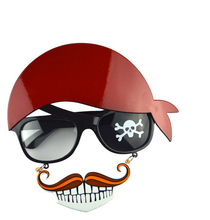 Pirate Sunglasses Party Glasses Dancing Supplies Hen Night Stag Party Fancy Dress Goggles Funny Gift Fashion Accessies(China)
