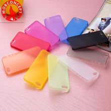 colorful soft matte tpu case  Transparent AG case for iphone 4 4s 5 5s 5c 6 6s 7 plus + 1 pcs tempered glass screen film gift