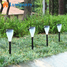 Lumiparty Shine Solar Powered Color Changing Garden Outdoor Waterproof Yard Light Lawn Hot Mini Decoration Scene(China)