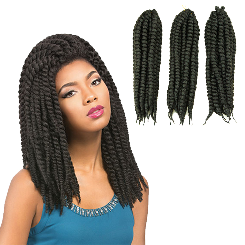 Twist braid hairstyles