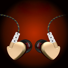 New Sale High-End Fashion In-Ear Earphone Metal Heavy Bass Sound High Fidelity Stereo Music Earphone MP3MP4 Music Player Headset(China)