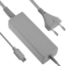 Free shipping 1pcs 100-240V Wall AC Power Adapter Universal Charger for Wii U EU Plug