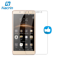 hacrin For Leagoo M8 Tempered Glass 100% New Good Quality Temperli Screen Protector Glass Film For Leagoo M8 Pro Smartphone(China)