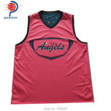 Factory Cheap Custom Made Digital Sublimation Print Basketball Jersey(China)