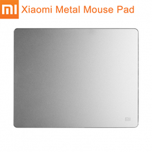 Original Xiaomi Metal Mouse Pad Mat Mousepad Luxury Simple Slim Aluminum Computer Mouse Pads Gaming S/L Size(China)