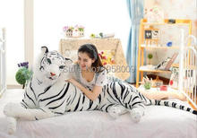 1.2M/120cm tiger plush toys Lovely Super Soft Giant Stuffed JUMBO Simulation tiger toys Valentine's day gifts(China)