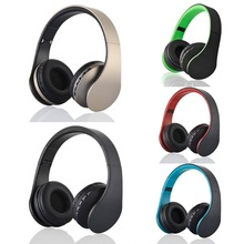 Auriculares Bluetooth cordless Head phone Foldable Headset Stereo Headphone Casque audio w/Micro SD card solt FM radio sluchatka