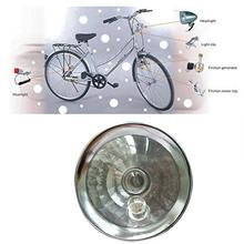 Bike Headlight Taillight Set Riding Friction Generator Wind Up Dynamo Self-powered Light Bicycle Rear Lamp Handlebar Light