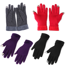 Windproof Snowboard Ski Gloves Female Bicycle Snowmobile Gloves Winter Gloves Phone Thermal Touchscreen Glove For Skiing Cycling(China)