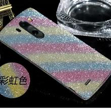 For LG Optimus G3 Cell Phone Decor Full Body Sticker Fashion Luxury Diamond Super Bling Screen Protector Film New
