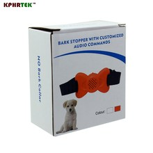 2017  Sep New Anit Bark  Bark Stopper with Customized Audio Commands No Bark Collar