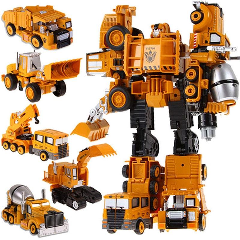 Children Boys Alloy Truck Deformation Transformation Toy robot set Action Figures 18CM 20CM super Crushing Hunter Babel Arm<br><br>Aliexpress