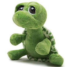 20cm Green Big Eyes Plush Tortoise Turtle Doll Toy Cute Soft Kids Baby Girls Boys Stufffed Plush Animal Toy Gift