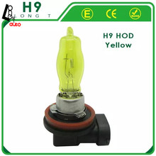 2 x H9 HOD 12V 3000K 100W Golden Yellow Auto Car Halogen Bulbs Lamps Headlight Fog Light Bulbs