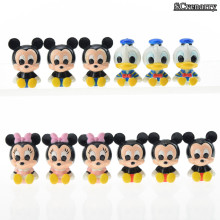 Mickey Mouse Minnie Donald Duck PVC Action Figure Collection Model Toys Kids Toys Doll Gift for Children 12pcs/lot CSDB4