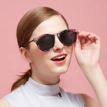 Maskros Flower Cat Eye Vintage Mirror Polarized Sunglasses for Women Feminine Retro Polarizing Sun Glasses UV400 Women's Goggles