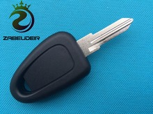 ZABEUDEIR 1pcs of new replacement Key case cover For IVECO Ducato Replacement Blank transponder key shell uncut key blade(China)