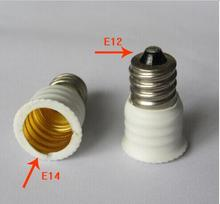 E12 E14 Lamp Holder Converter Adapter lighting accessories Light Base conversion x20(China)