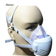 Dust mask anti fog and haze PM2.5 industrial dust activated carbon silica gel riding breathable
