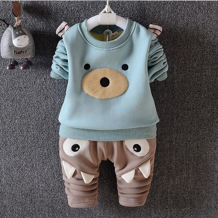Spring Autumn Sports Suit For Boys Baby Clothes Cartoon Pullover And Pants Two-piece Ensemble Garcon Christmas Suit For The boy<br><br>Aliexpress