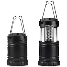 High Quality Ultra Bright Portable Rechargeable Low Energy Consumption Waterproof Collapsible 30 LED Camping Lanterns Lights