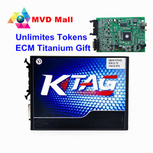 KTAG V2.13 Main Unit With Best Qualty PCB Board K TAG Firmware V6.070 K-TAG ECU Chip Programming Tool CNP Free