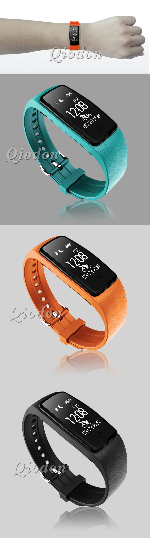 Waterproof Music Control Smart Wristband Band Heart Rate Monitor Pedometer Smartband Fitness Bracelet Tracker PK fitbits mi band 3
