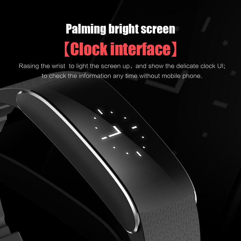 A86 Smartband Heart Rate Blood Pressure Watches Pulse Monitor Smart Band Fitness Bracelet Activity Tracker Wristband Pedometer 6
