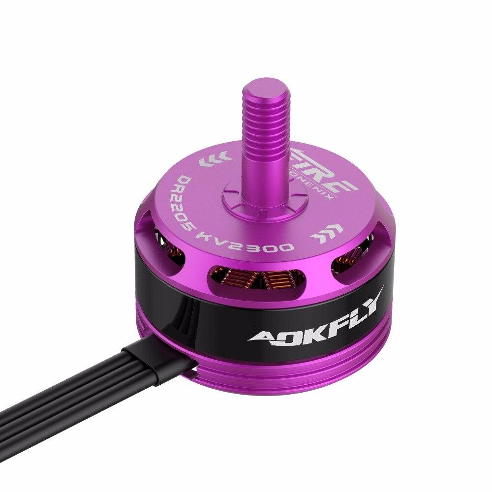 2205 Brushless Motor rc Motor Drone Motor AOKFLY DR 2300KV/2500KV Red/Purple for FPV Quadcopter RC Model Toys 4pcs<br>