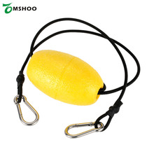 1pcs Lightweight Kayak Accessories Float Kayak Leash Float Compact Floating Canoe Tow Throw Line Anchor for Fishing Grip Float(China)