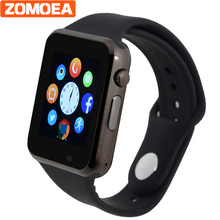 WristWatch Bluetooth Smart Watch Sport Pedometer With SIM Camera Smartwatches For Android smartphone Russian Calculator(China)