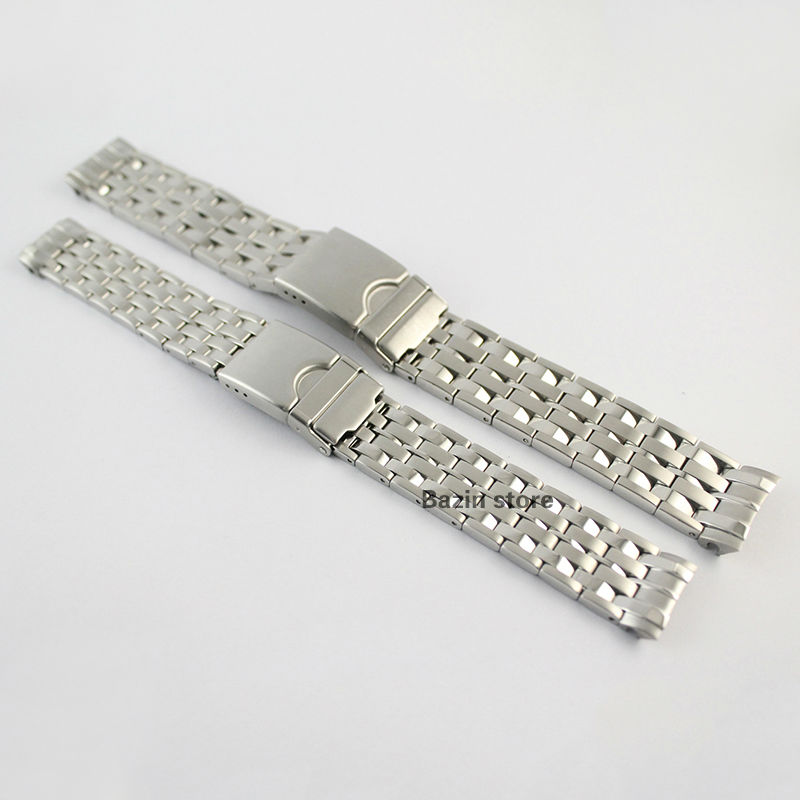 17/20mm T22 New Watch Parts Solid Stainless steel bracelet strap Watch Bands For T22 Free Shipping<br>