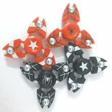 Buy Captain America Spinner Metal Hand Fidget Spinners Super Hero EDC Tri Figet Spiner Superman Batman Spiderman Iron Man Finger Toy for $1.98 in AliExpress store
