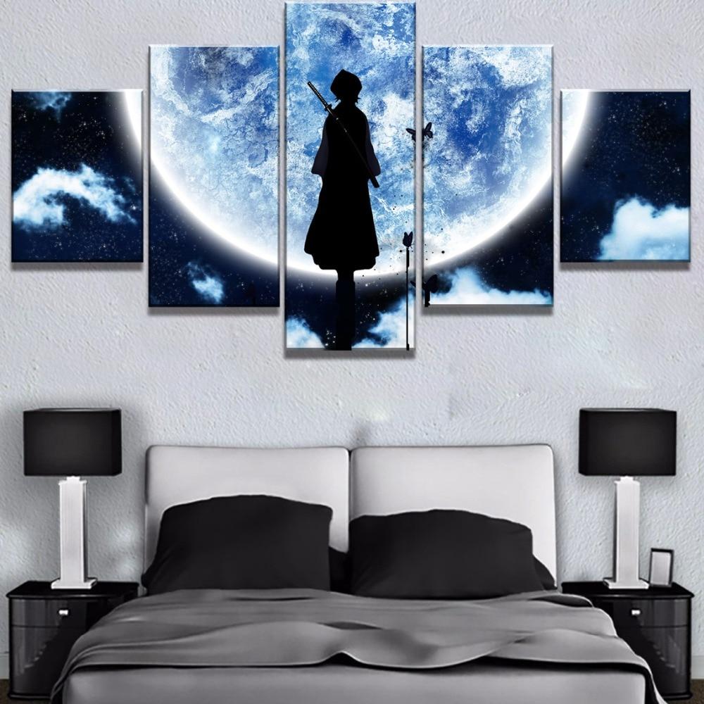5 Piezas Impresiones en Lienzo Cartel de World of Warcraft Giclee HD Wall Art Modern Sala de impresi/ón Decoraciones para el hogar