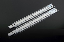 "1Pairs/Lot  20"" / 50CM  H3510 ball bearing drawer slide Slides Runner Rail 3-Fold Full Extension 35KG"