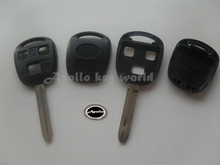 3 Buttons Replacement Remote Key Shell Case For Toyota Prado Camry Lexus With TOY43 Blade Fob Key Cover 10PCS/lot
