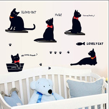 Wall Stickers Decoration wall sticker car-detector christmas decorations for home poster diy home decor accessorie kids rooms(China)