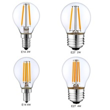 Dimmable E14 E27 G45 Retro LED Filament Light Globe Bulb 1W 2W 4W Edison Vintage Ampoule Led Lamp 220V 240V indoor Lighting