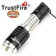 TrustFire Z8 CREE XM-L2 600lm 3-Mode Stainless Steel Zooming LED Flashlight (1x14500)(China)