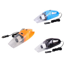 Portable Car Vacuum Cleaner Wet and Dry Aspirador de po dual-use Super Suction 120W Car Vacuum Cleaner (HEPA Filter)(China)