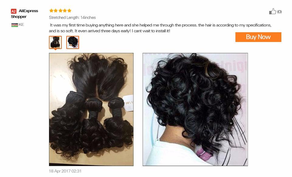 Brazilian Virgin Hair Weave Bouncy Curly Weave Human Hair