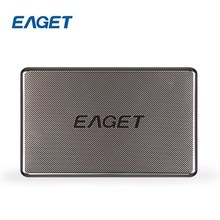 New EAGET G50 USB 3.0 Encryption 2.5 Inch HDD 500GB / 1TB Full Stainless Steel Shockproof High-speed External Hard Drives Disk