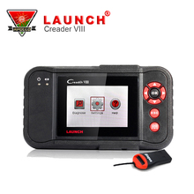 [Authorized dealer] Launch Creader VIII OBDII Auto Code Scanner Creader8 Support Oil Reset With free Internet Update