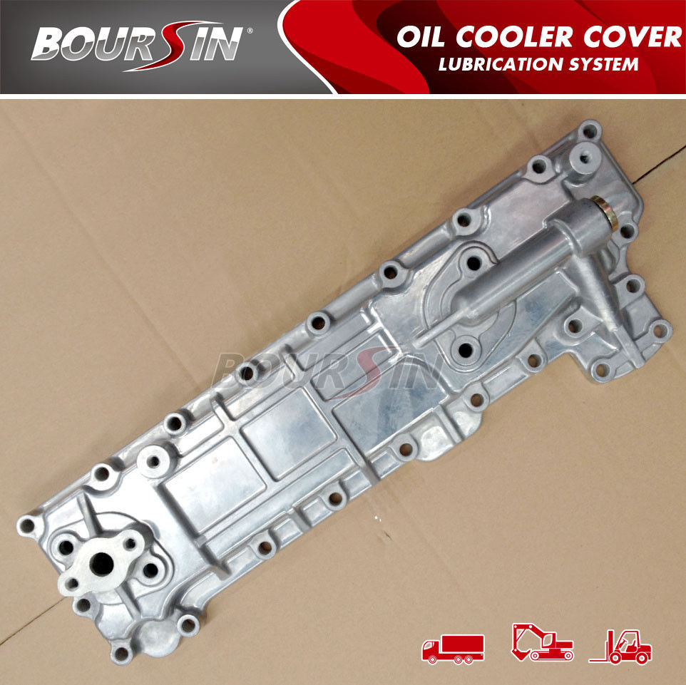 brand new/oil cooler cover for 4BE1/ 4BC2/ 4BF1/ NPR/ KS22/ 8-94438-371-0 oil cooler covers<br><br>Aliexpress