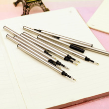 5pcs/lot 0.5mm Black blue Ballpoint pen Refills Nib Medium New Suitable for all types of my shop and market(China)